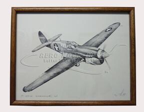 38-13 Print - Flying Tiger P40K