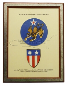 38-14 Display, Flying Tiger - Patches