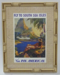 38-43 Print - Fly To South Sea Isles