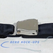 39-40 Seat belt, Pax - Tapered, Navy