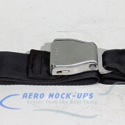 39-43 Seat belt, Pax - Tapered, Grey