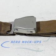39-45 Seat belt, Pax - Tapered, Tan