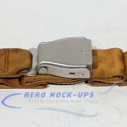 39-46 Seat belt, Pax - Tapered, Gold