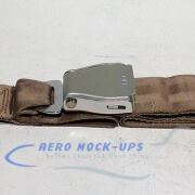 39-47 Seat belt, Pax - Tapered, Beige