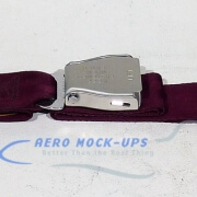 39-48 Seat belt, Pax - Tapered, Purple