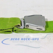 39-49 Seat belt, Pax - Tapered, Lime