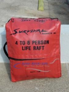 39-54 Life raft - in bag