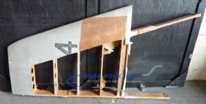 38-66 Vertical stabilizer, wood