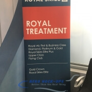 32-275 Banner Stand - Royal Treatment