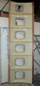 14-20 Wall assembly, short panels - Cargo set a