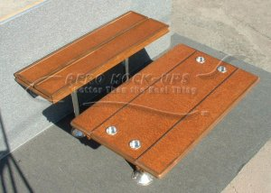 34-105 Table, Rectangle - Bifold - Top