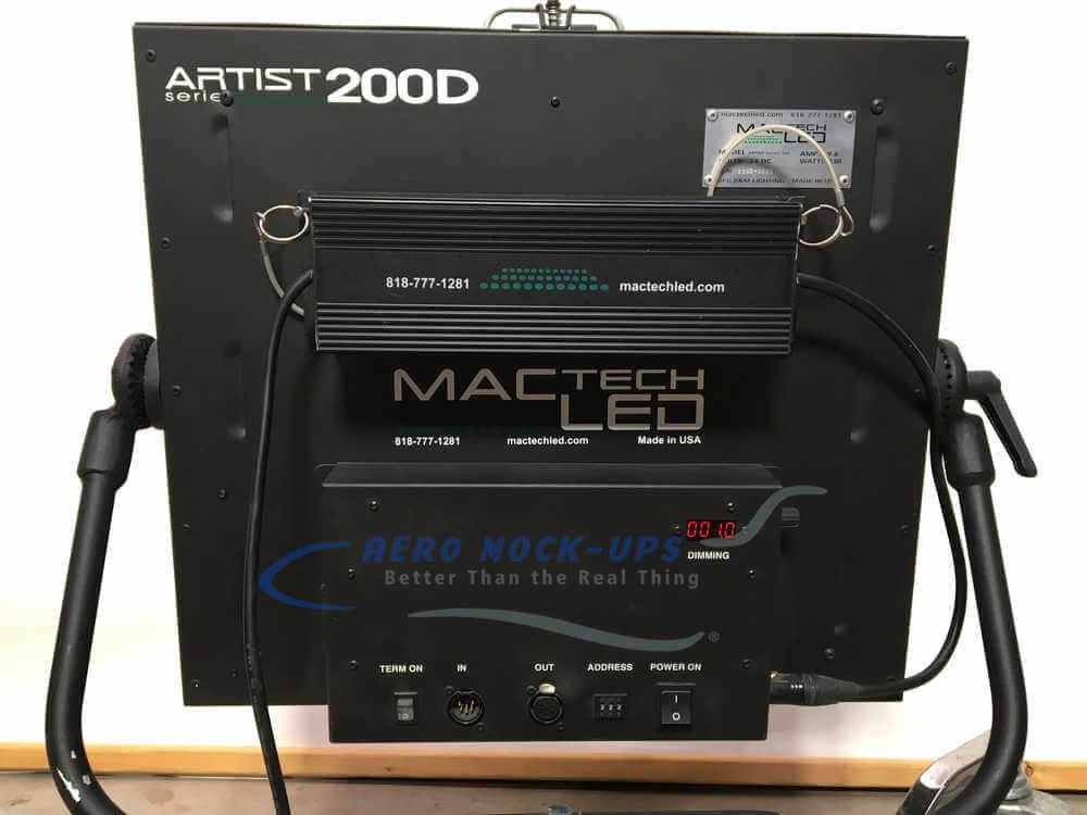Artist 200D - Back