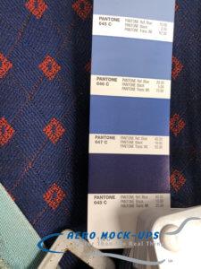 21-11-x-1 CC HOLA - Blue-red diamond cloth