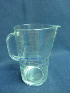 35-44 Pitcher, Glass - Wide rings