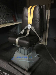 25-4 Observer seat - Yellow harness