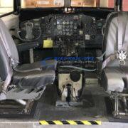 25-5 & 25-6 Seat, Capt + 1st Officer - Gray vinyl