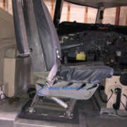 25-5 Seat, Captain - Gray vinyl