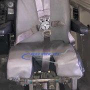 25-6 Seat, 1st Officer - Gray vinyl
